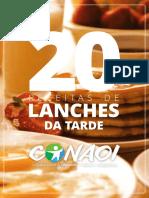 20 Receitas de Lanches Da Tarde