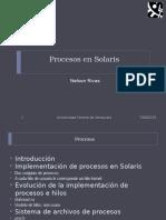 Presentacion Procesos Solaris