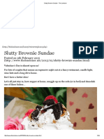 Slutty Brownie Sundae - The Londoner