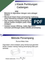 Materi Kuliah Minggu 6 - Metoda Klasik Perhitungan Cadangan