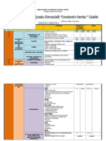 The Planning of the Educational Units III