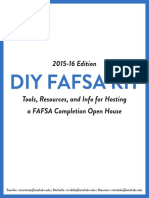 2015-2016 fafsa diy kit