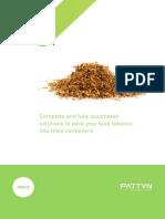 Tobacco Brochure 2014