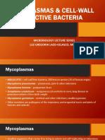 23 Mycoplasmas & Cell-wall Defective Bacteria