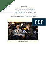 Poesía sueca. Premio Nobel Tomas Tranströmer