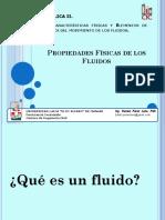 Clase 1. Propiedades Físicas de Los Fluidos. Conferencia