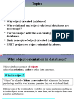Object Oriented Databases