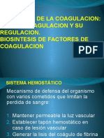 Bioquimica de La Coagulacion