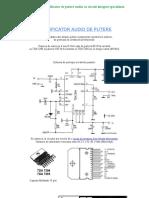 Schema Unui Amplificator de Putere Audio Cu Circuit Integrat Specializat