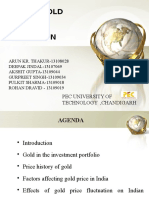 Gold Price Project