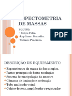 Espectometria de Massas