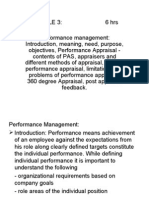 IAME Performance Management