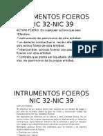 Presentacion Resumen Intrumentos Fcieros Nic 32-Nic 39