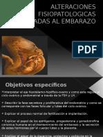 Alteraciones Fisiopatologicas Asociadas Al Embarazo