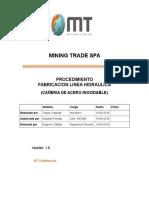 Pr-05 Procedimiento Fabricacion de Linea Hidraulica 1 Rvisar Edu