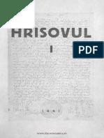Hrisovul 1 (1941)