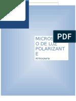 El Microscopio de Luz Reflejada e Identificación de Los Minerales Opacos