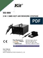 Ss 989a Manual
