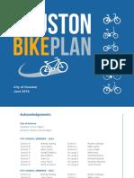 Houston Bike Plan - Scribd Executive Summary (June2016)