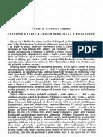 Giurescu Útočiště husitů a jejich střediska v Moldavsku