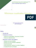 Clase Mincua Lineal 2016