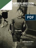 Henry Cartier Bresson PDF