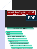 Manual  de Aplicación   Laboral