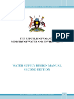 Water Supply Design Manual, 2013-Reduced