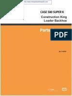 Manual Servicio Case 580 Super K Construction King
