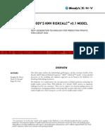 RiskCalc 3.1 Whitepaper