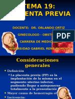 Placenta Previa y Dpp