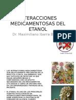 Interacciones Medicamentosas Del Etanol