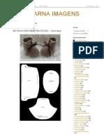 Amarna Imagens_ Botinha Para Bebê Em Tecido - Como Fazer