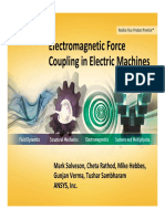 Electromagnetic Force Couplingin - ANSYS