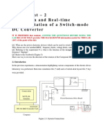 Simulink Simulation of Switching Mode Converter
