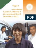 IGC2 Examiners Report 2011