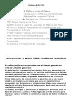 CLASE N_2- CRITERIOS PARA DISEÑO DE CARRETERAS.pptx