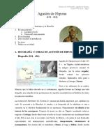 San Agustín - Presentación Notas Generales