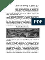 La Historia Escrita de Venezuela