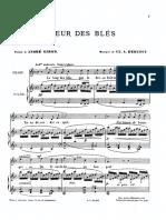 Debussy- Fleur Des Blès