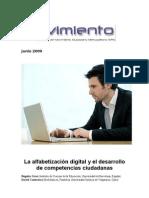 Alfabetización digital y desarrollo de competencias ciudadanas