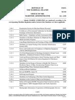 Index - Marine Guidelines