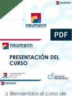 Presentación - Cálculo Financiero