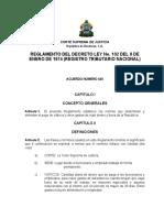 Reglamento de Viaticos y Gastos de Viaje Para Funcionarios
