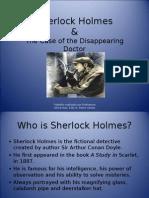 Sherlock Holmes Power Point