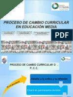 CambiPROCESO CRRICULAR 2016o Cuuricular