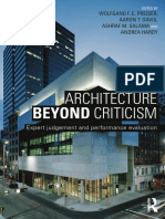 Architecture Beyond Criticism Expert Jud