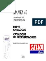 Yamaha 40 PLS
