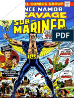 Prince Namor The Sub Mariner 67 Vol 1
