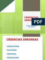 CREENCIAS ERRONEAS